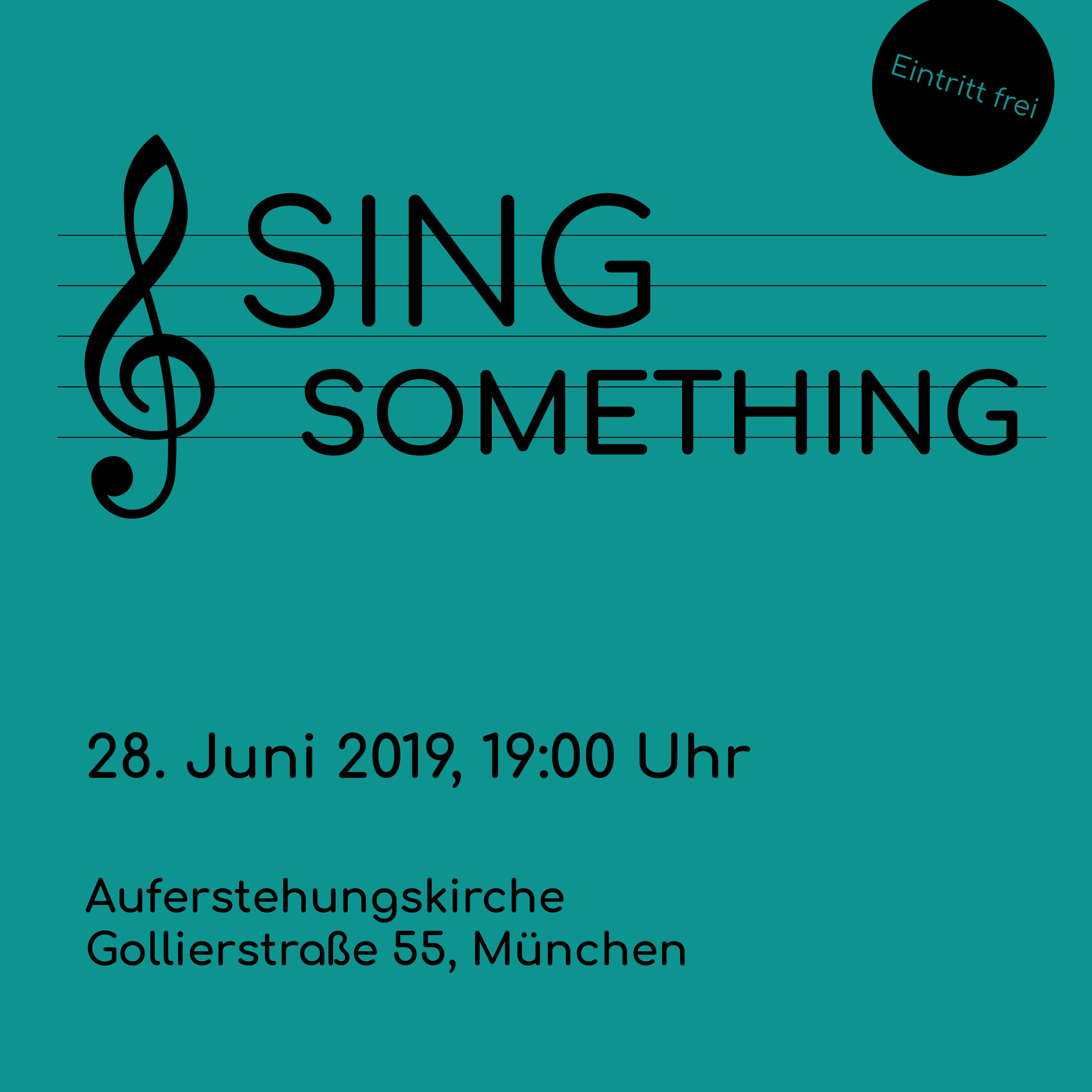 Sing Something
